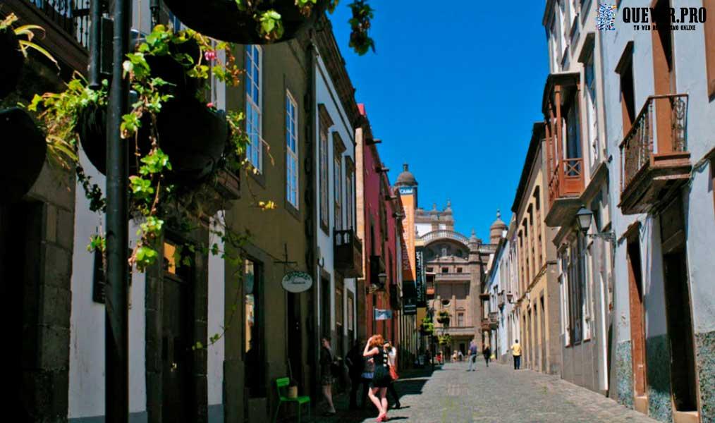 Barrio de Vegueta Gran canaria