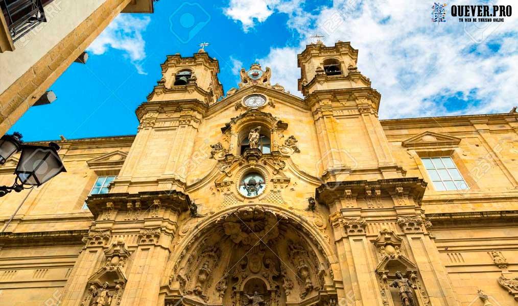 Basílica de Santa María del Coro san sebastián