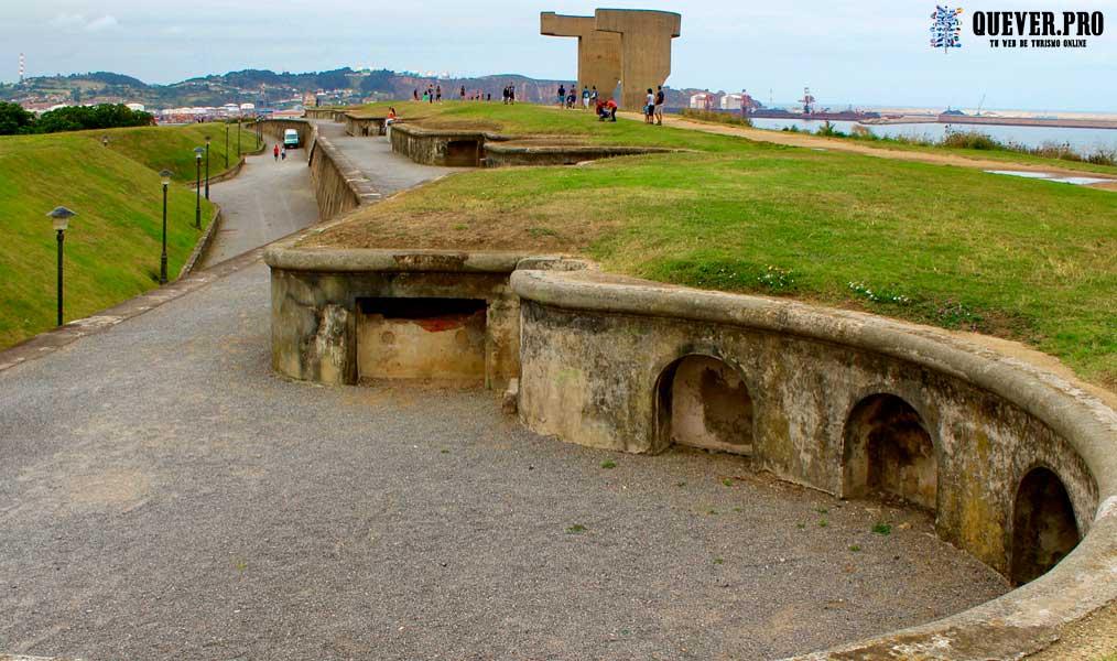 Batería de Santa Catalina Gijón