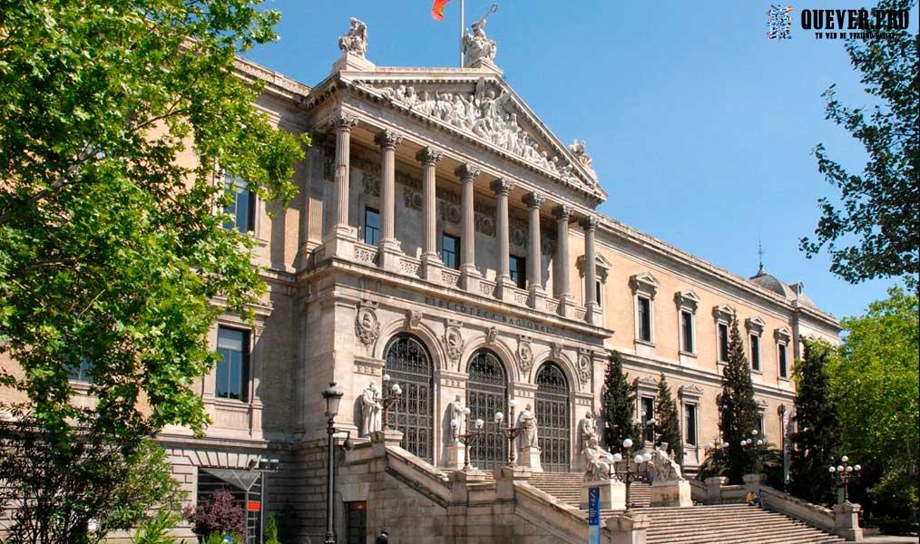 Biblioteca Nacional de España Madrid