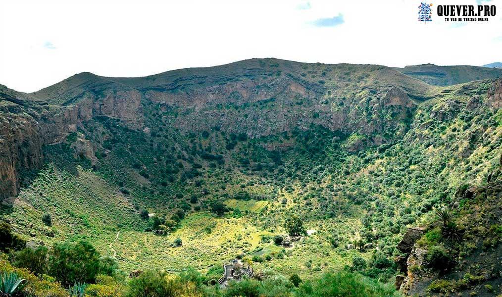 Caldera de Bandama Las palmas de Gran Canaria