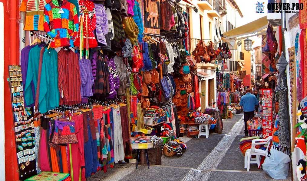 Calle Calderería Nueva- Calle de las teterías Granada