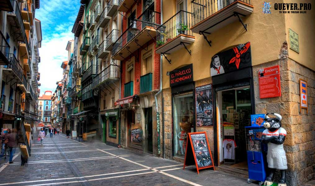 Calle Estafeta Pamplona