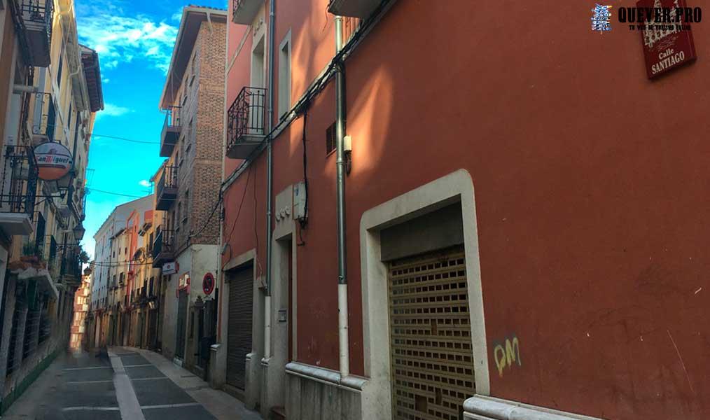 Calle Santiago Calahorra