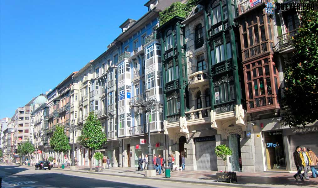 Calle Uría Oviedo