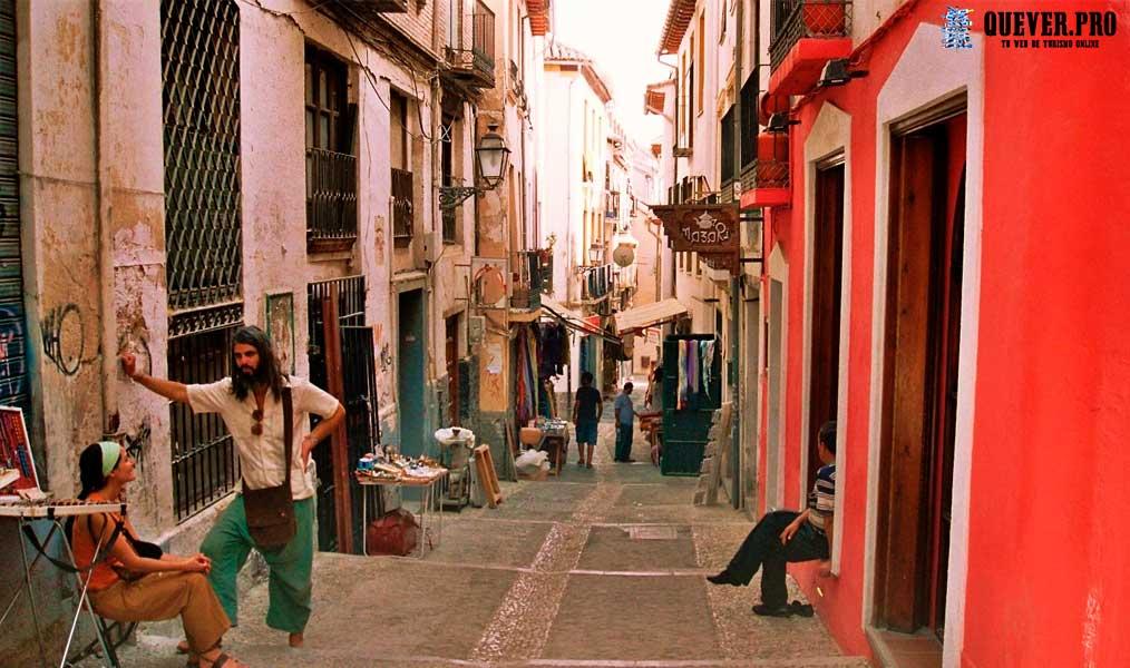 Callejuelas y miradores de Sacramonte Granada