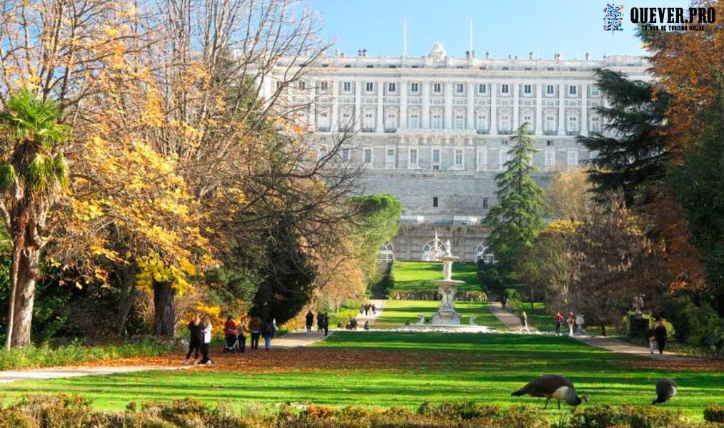 Campo del Moro Madrid