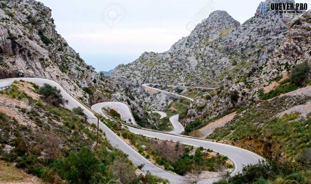 Carretera de Sa Calobra Mallorca