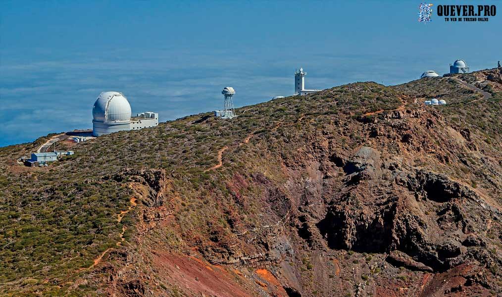 Centro astrofísico Roque de los Muchachos Canarias