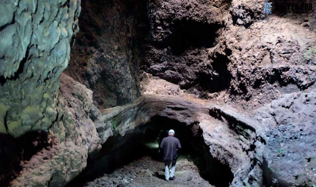 Cueva Volcánica de las Palomas La Palma