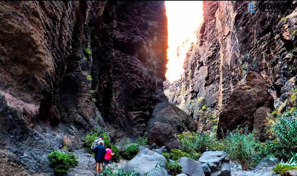 El Barranco de Masca Tenerife
