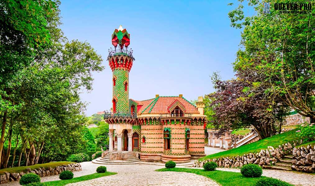 El Capricho de Gaudí en Comillas Cantabria