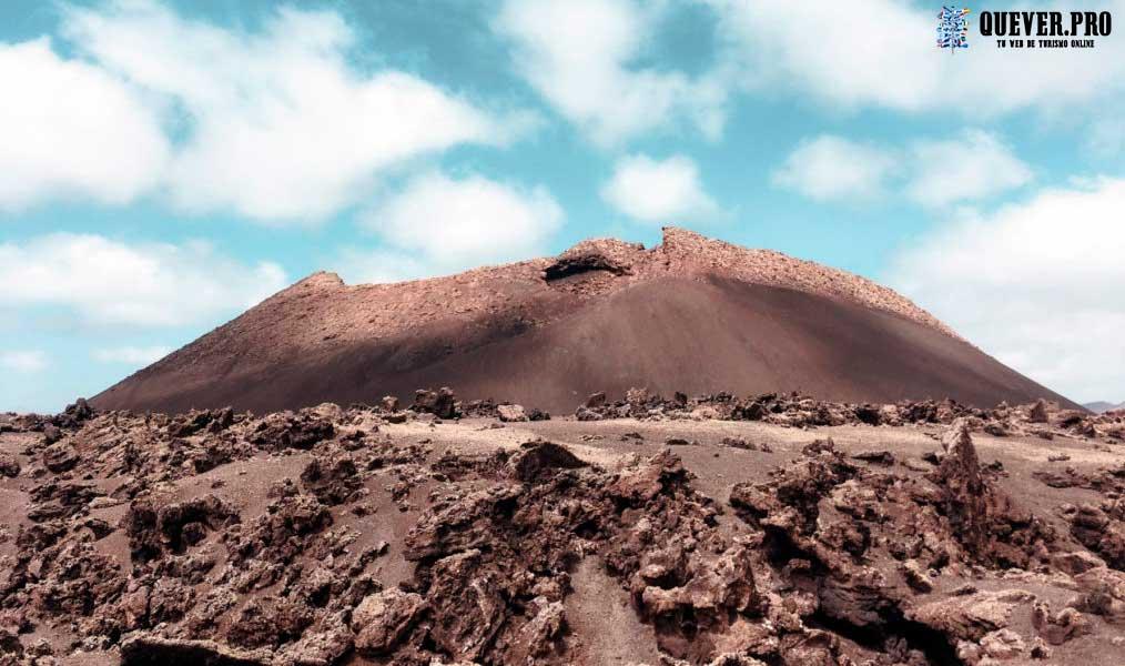 El Volcán el Cuervo Lanzarote