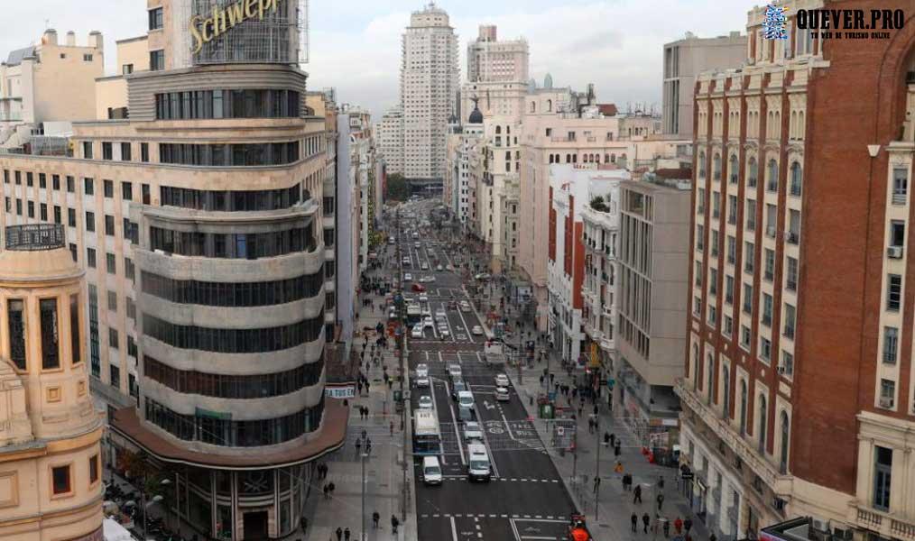 Gran Vía de Madrid Comunidad de Madrid