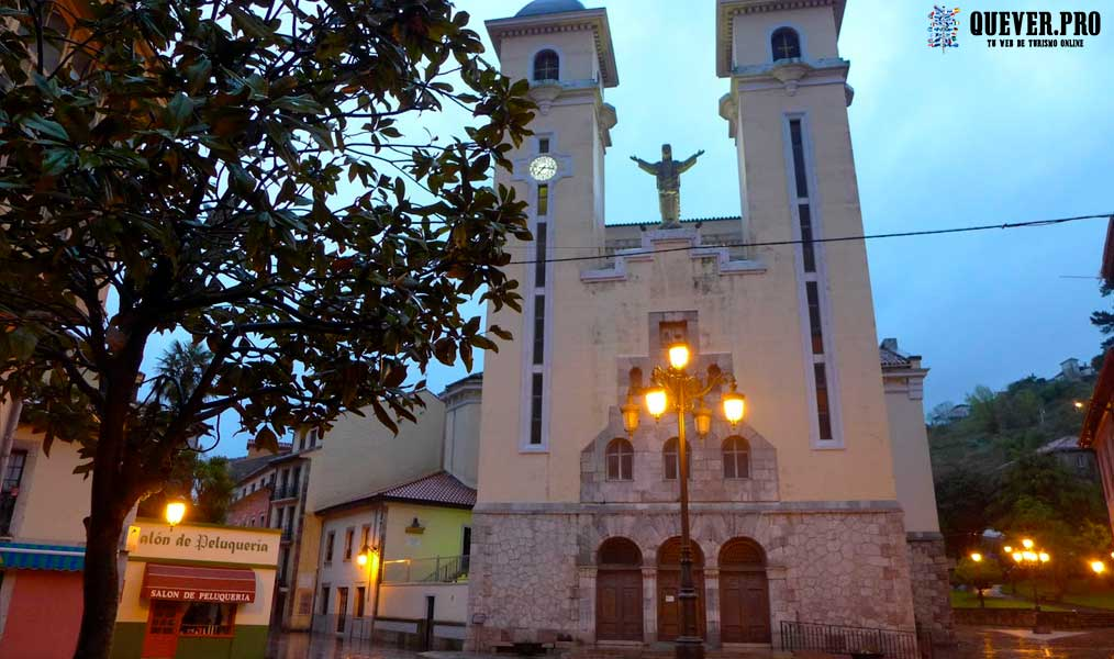 Iglesia Parroquial de Santa María Magdalena Ribadesella