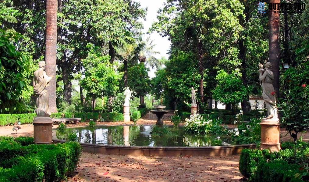 Jardín Carmen de los Mártires Granada