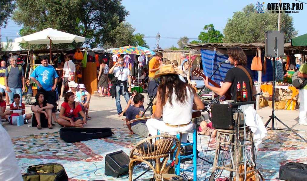 Mercado artesanal Pilar de la Mola Formentera