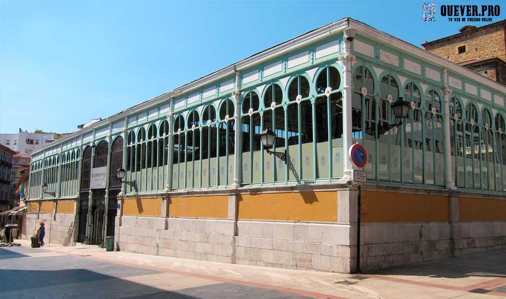 Mercado de El Fontán Oviedo