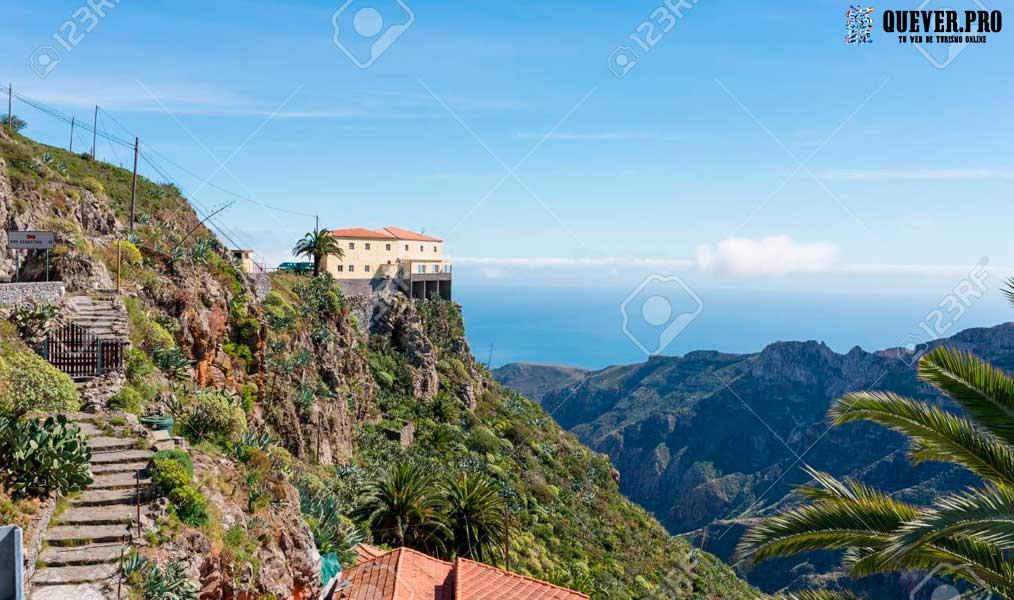 Mirador de Degollada de Peraza Canarias