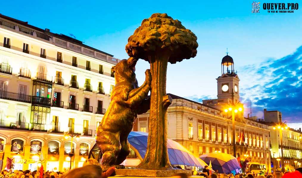 Oso y Madroño de la Puerta del Sol España Madrid