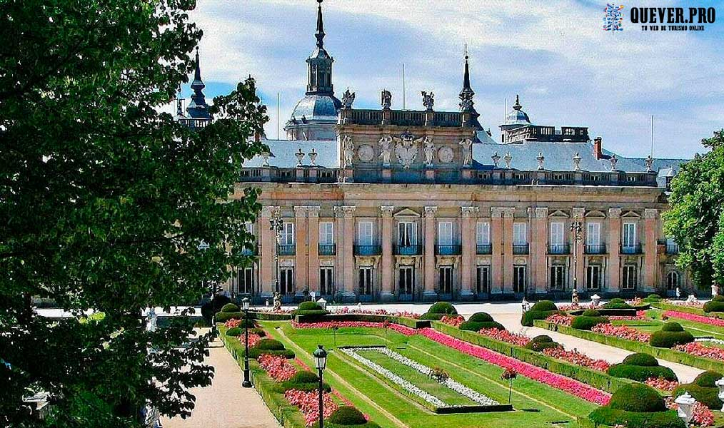 Palacio Real de la Granja de San Ildefonso Comunidad de Madrid