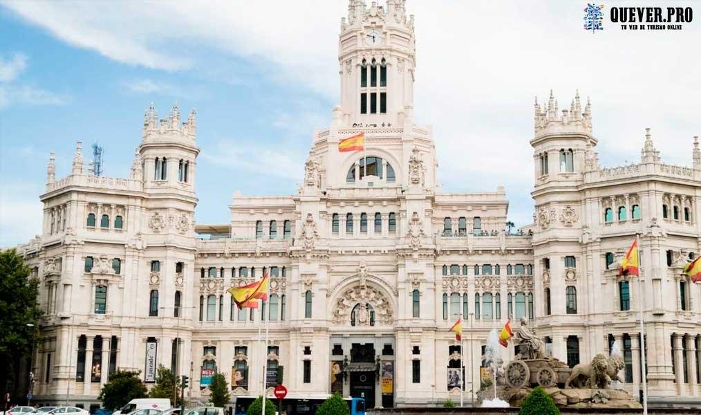 Palacio de Cibeles Comunidad de Madrid