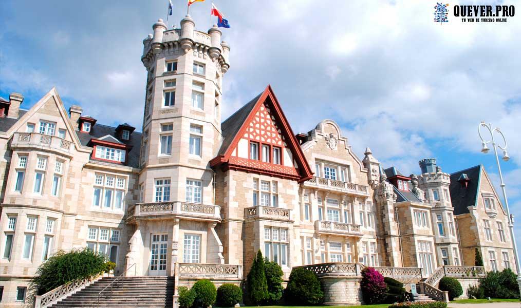 Palacio de la Magdalena en Santander Cantabria