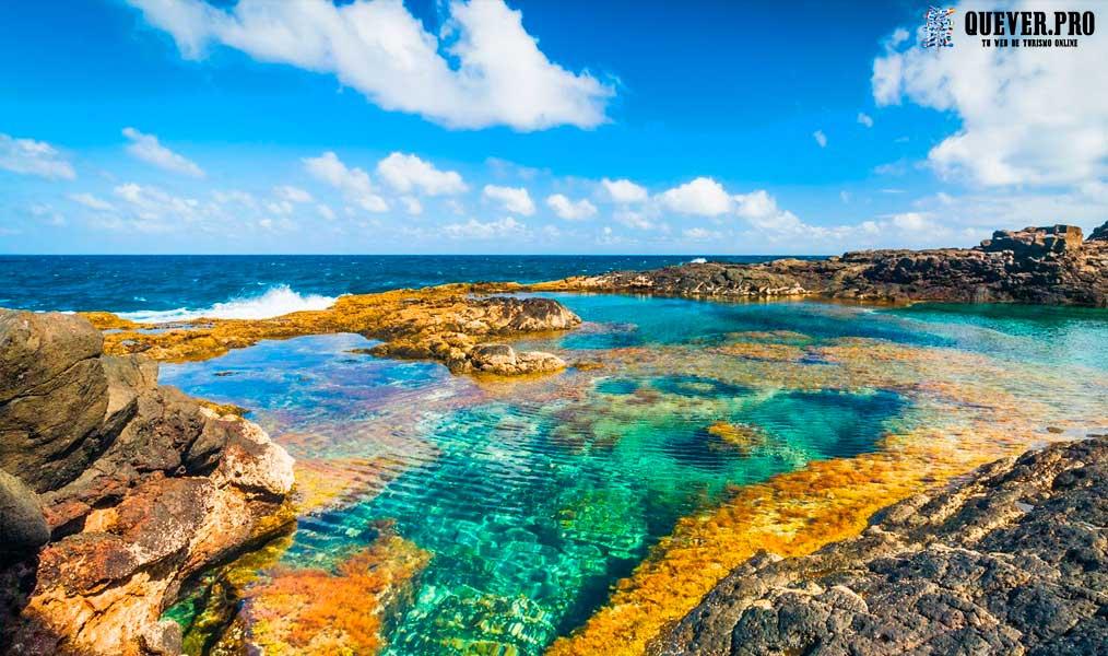 Piscinas Naturales de los Charcones Lanzarote
