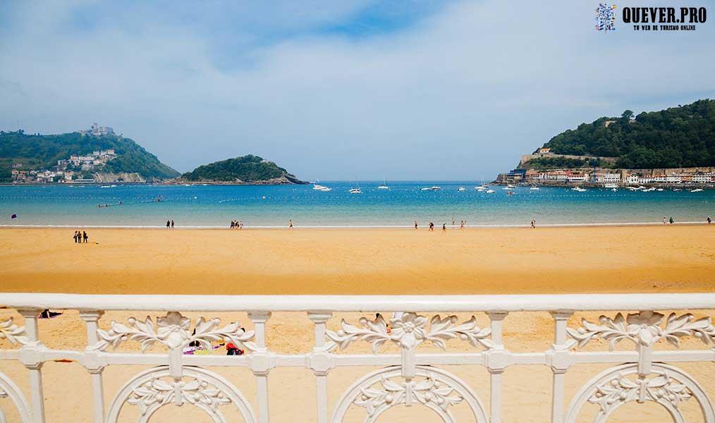 Playa La Concha San Sebastián