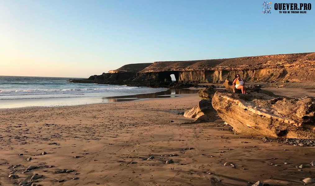 Playa de Garcey Fuerteventura