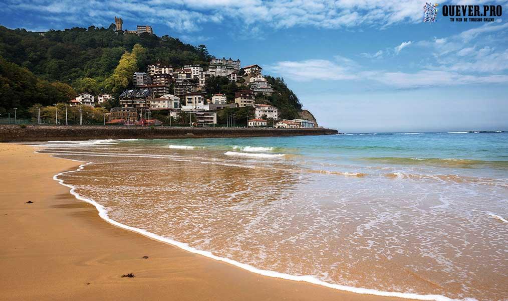 Playa de Ondarreta San Sebastián