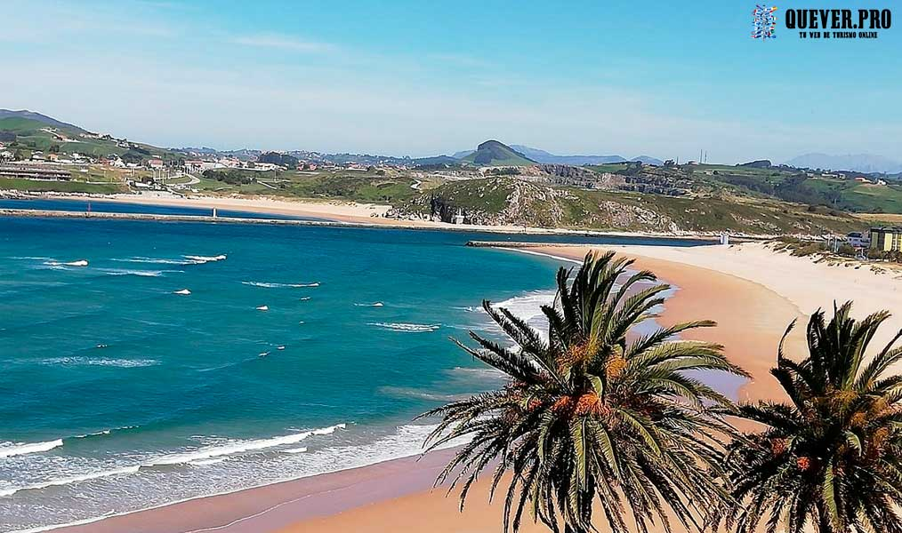 Playa de la Concha Suances