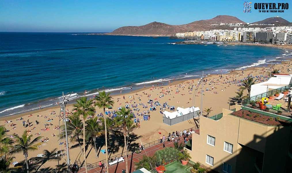 Playa de las Canteras Las palmas de Gran Canaria