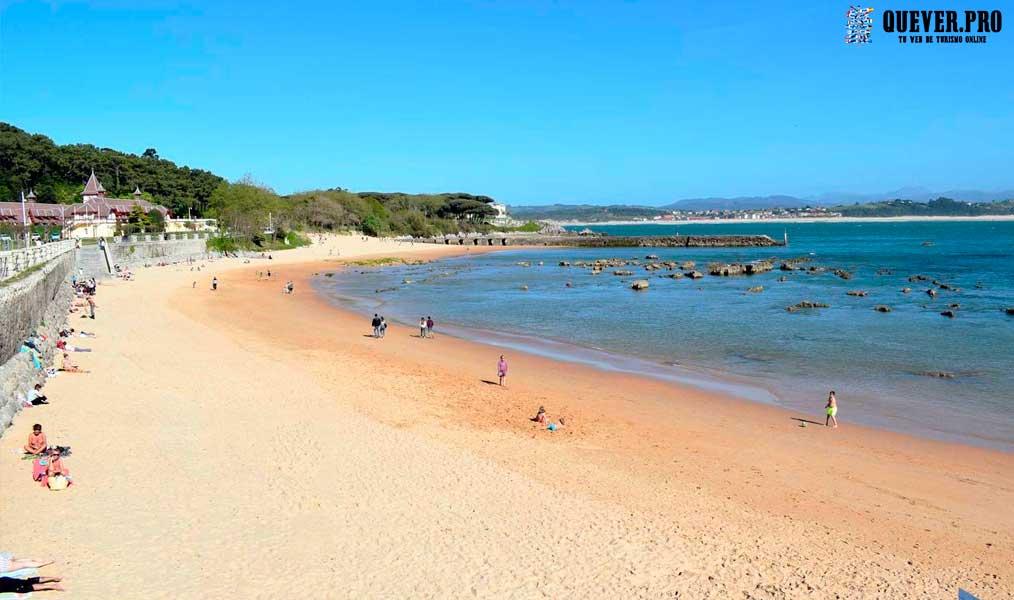 Playa de los Bikinis Santander