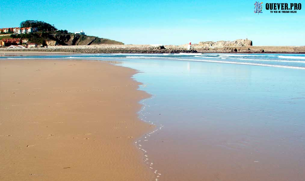 Playa del Rosal San Vicente de la Barquera