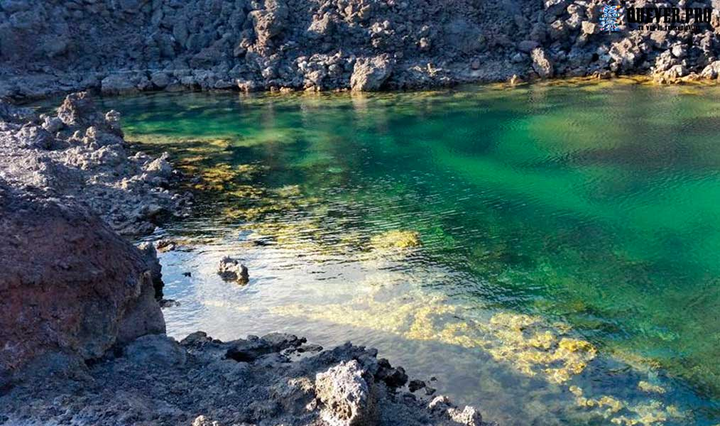 Playa y Charcos de Echentive La Palma