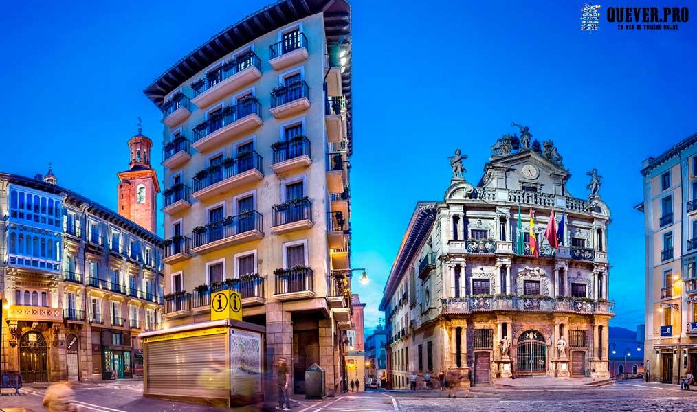 Plaza Consistorial Pamplona