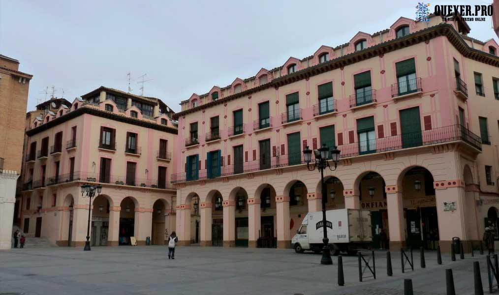 Plaza Luis López Allué Huesca