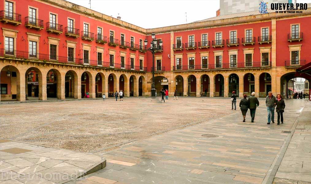 Plaza Mayor Gijón