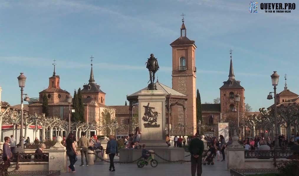 Plaza de Cervantes Alcala de Henares