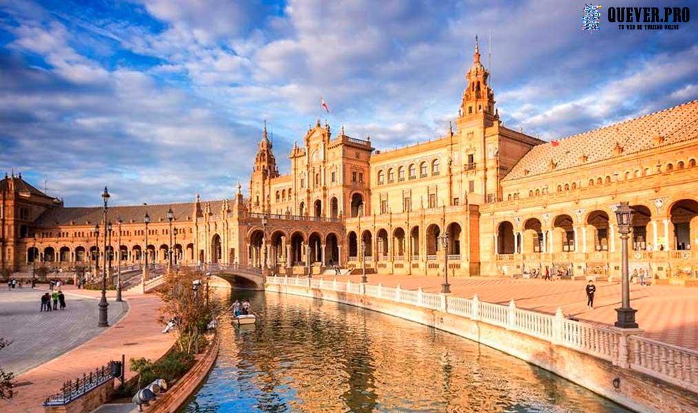 Plaza de España de Sevilla Andalucía