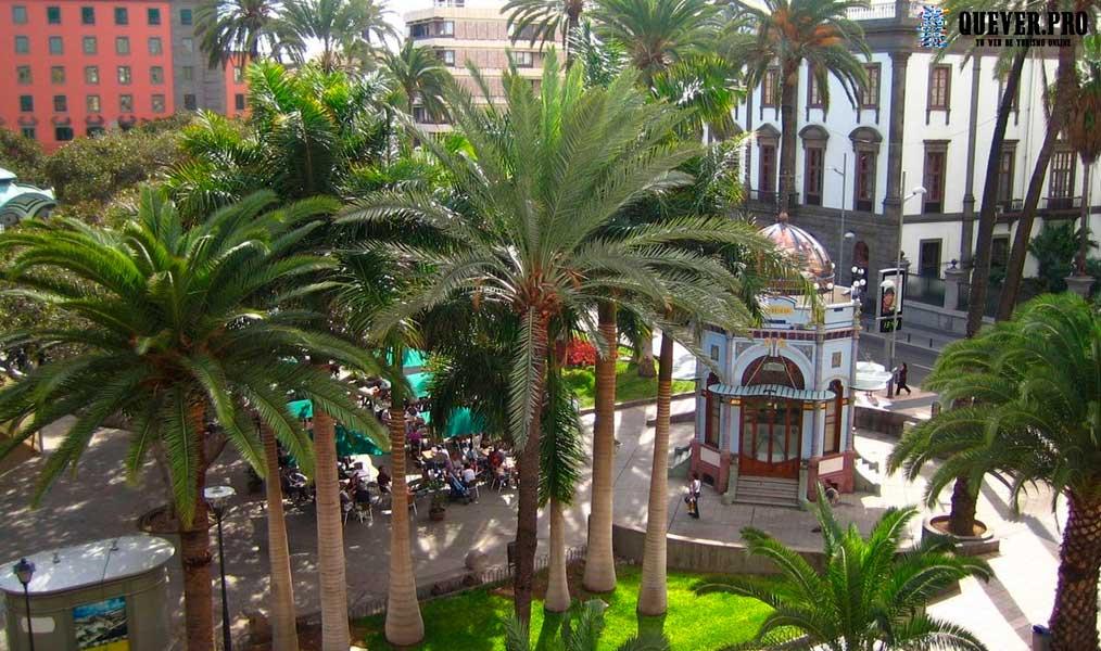 Plaza de San Telmo Las palmas de Gran Canaria