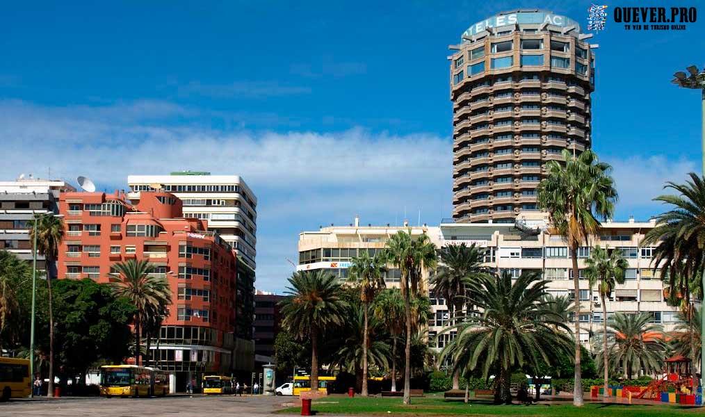 Plaza de Santa Catalina Las palmas de Gran Canaria
