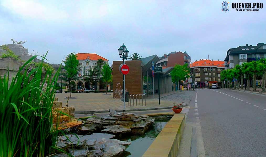 Plaza de Viares Suances