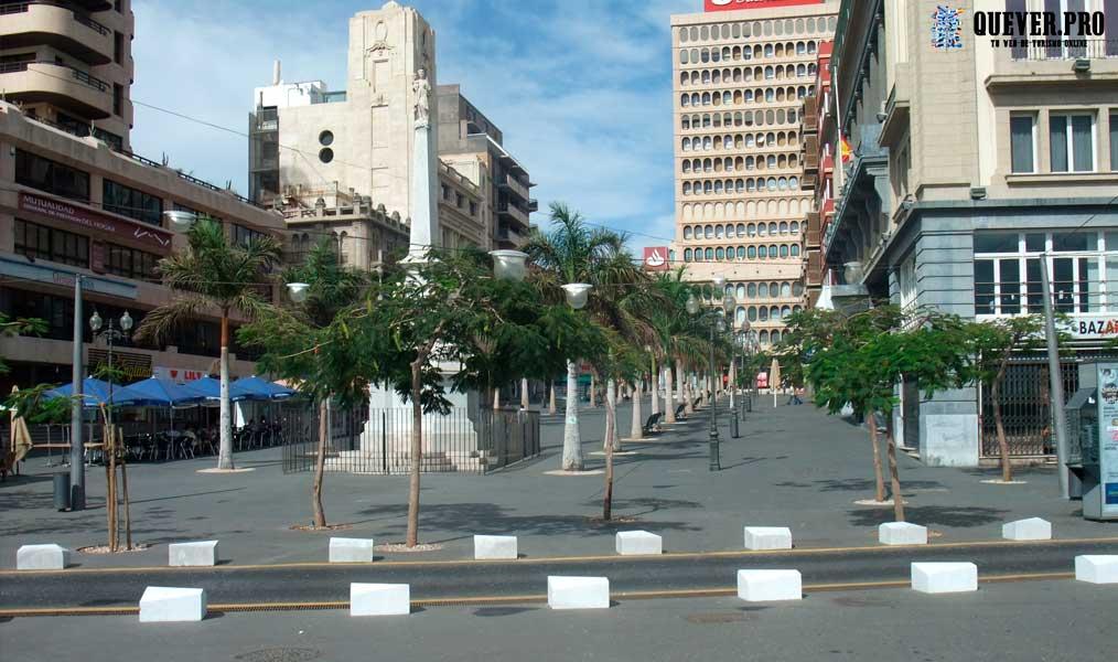 Plaza de la Candelaria Santa Cruz de Tenerife