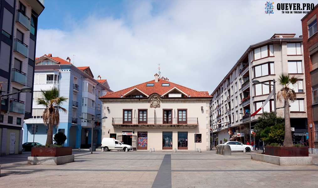 Plaza de la Concordia Santoña