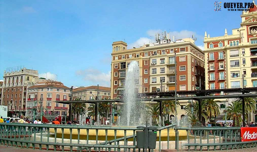 Plaza de la Marina Málaga