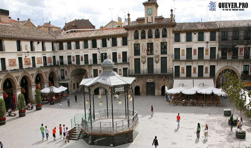 Plaza de los Fueros Tudela