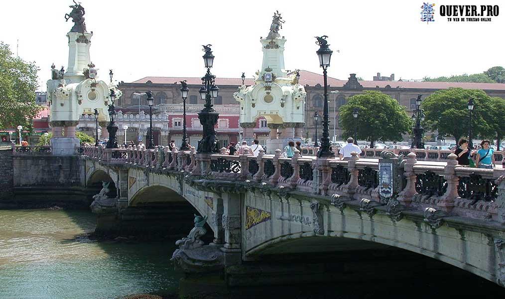 Puente de María Cristina San Sebastián