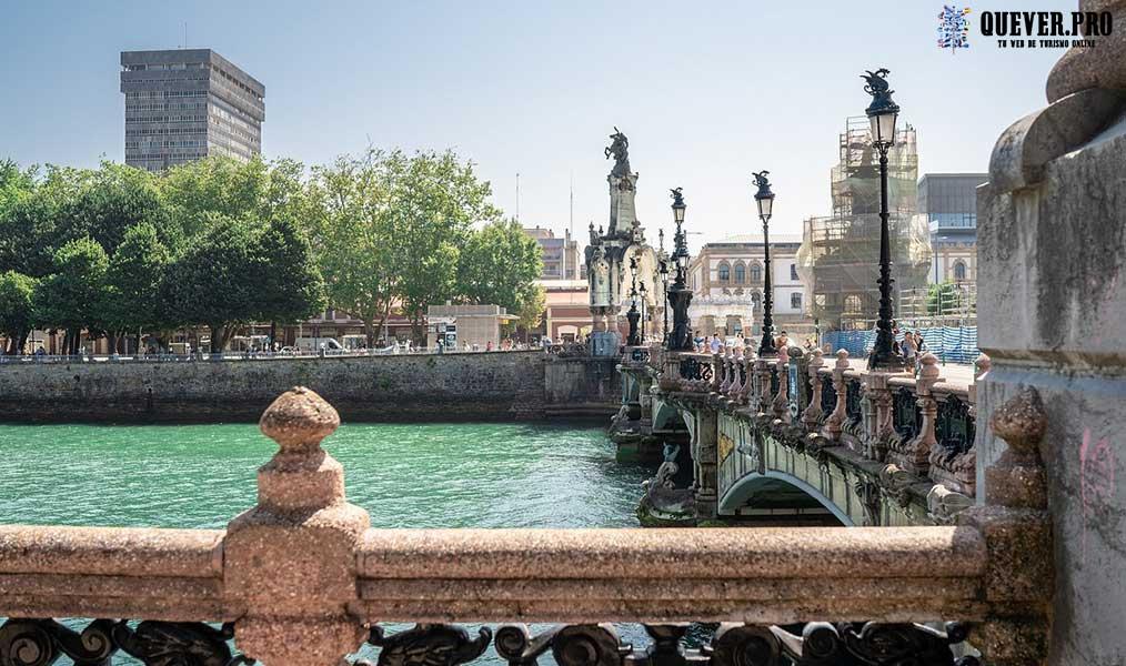Puente de Santa Catalina San Sebastián